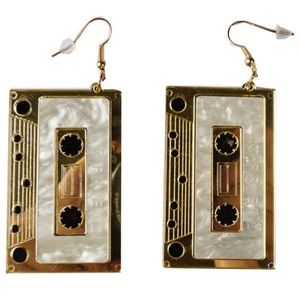Urban Outfitters Gold cassette Earrings